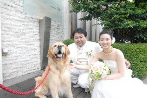 愛犬と一緒に参加できる結婚式