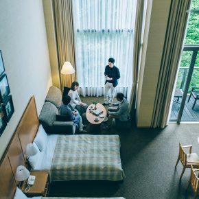 ホテルハーヴェスト旧軽井沢の宿泊部屋