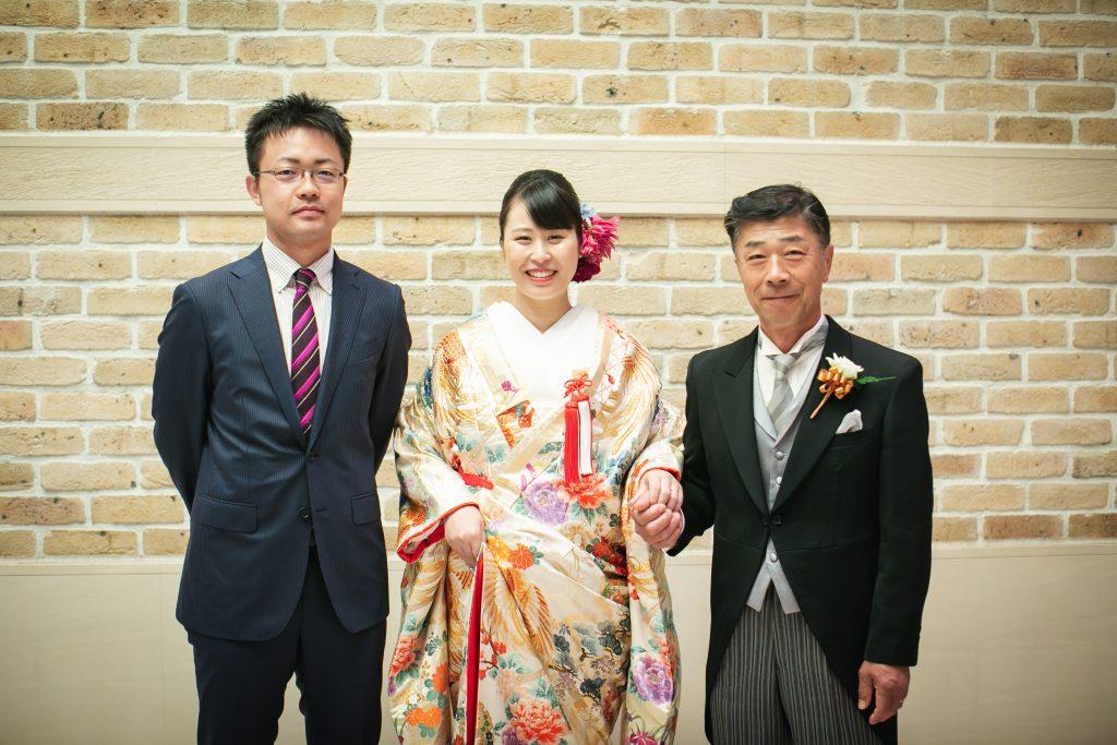 父と兄と花嫁