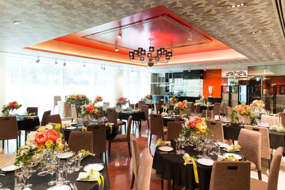 ラ・ロシェル山王のレストラン