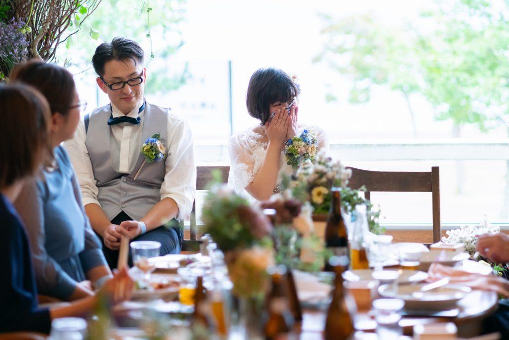 感動する花嫁