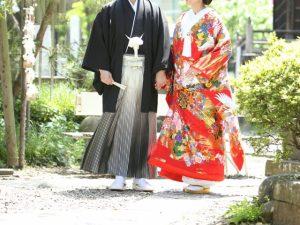 和装衣装で和婚