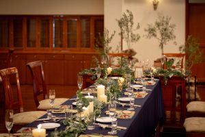 有明邸の結婚式