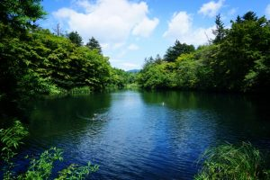 軽井沢の風景