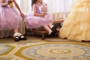 子連れの結婚式