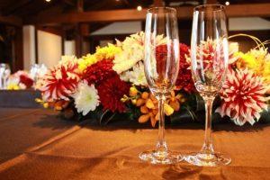 和風の結婚式場