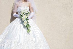 プリンセスラインのドレス