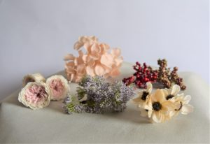 お花のヘッドパーツ