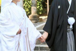 神社で和婚